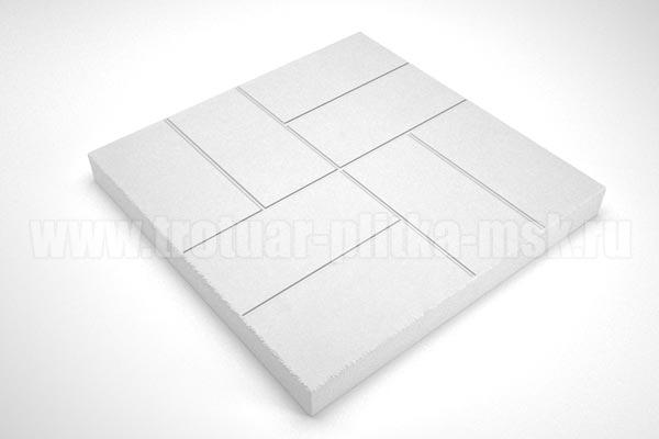 плитка 8 кирпичей 30мм белая