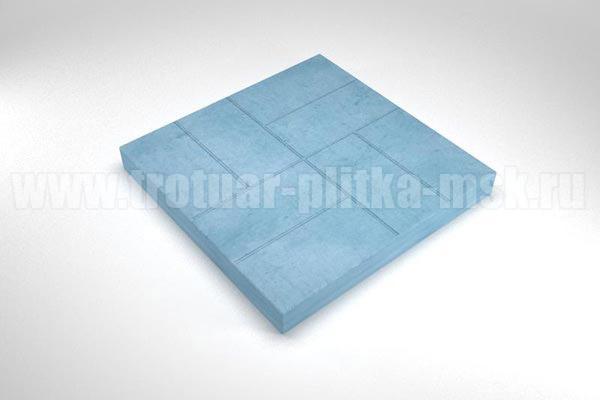 плитка 8 кирпичей синяя