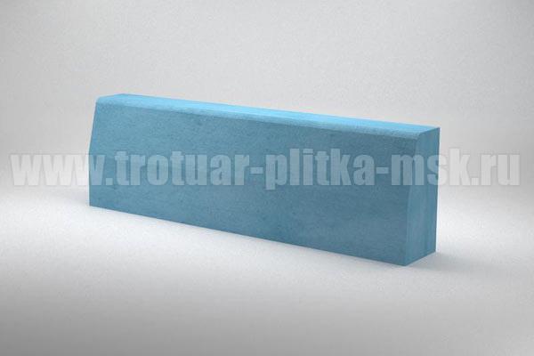 бордюр дорожный синий