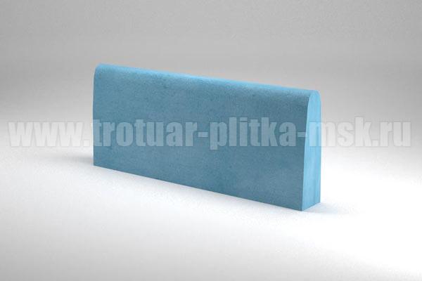 бордюр двухсторонний синий