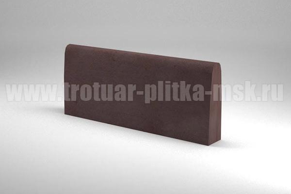 бордюр двухсторонний коричневый