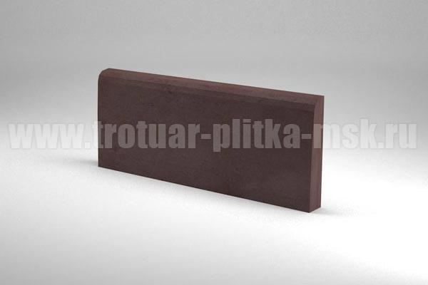 бордюр 500x200x40 коричневый