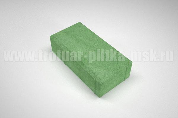 плитка брусчатка вибропресс зеленая