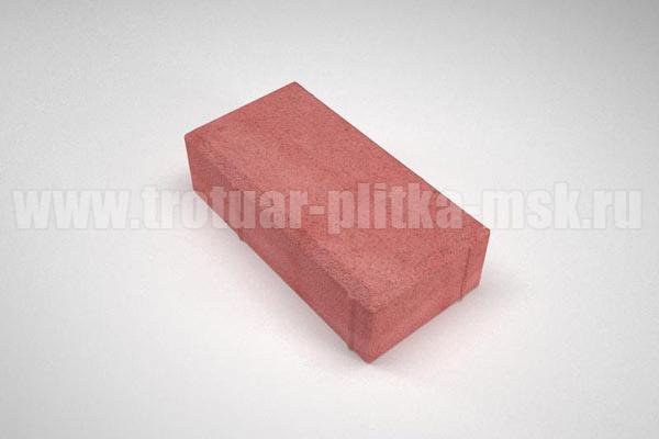 плитка брусчатка вибропресс красная