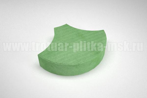 плитка чешуя зеленая