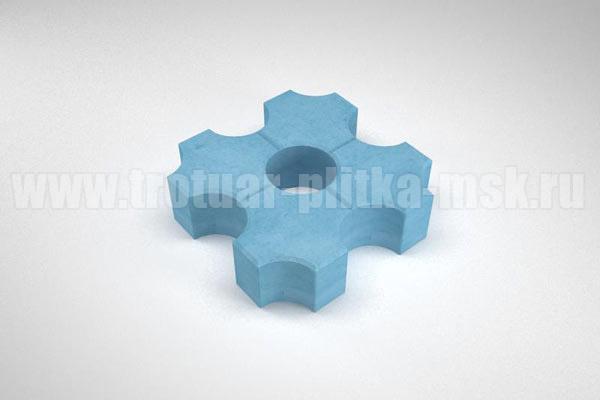 плитка эко синяя