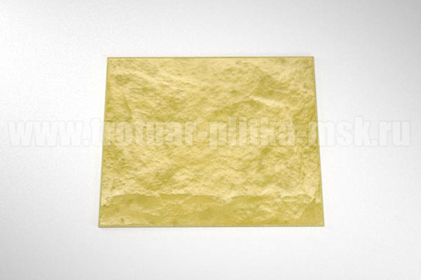 фасадная плитка (270*330) желтая