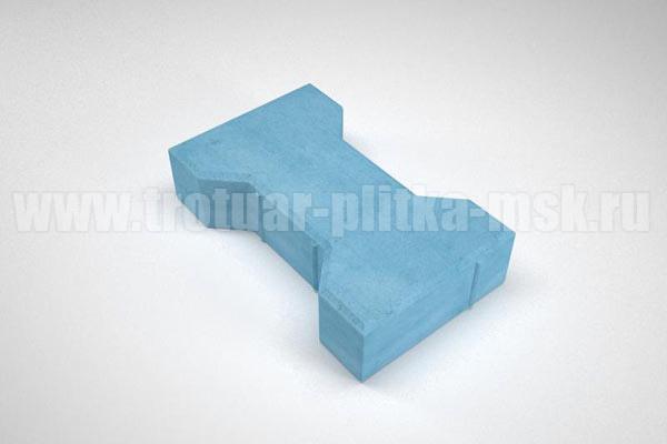 плитка катушка синяя