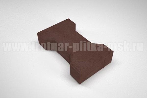 плитка катушка вибропресс коричневая