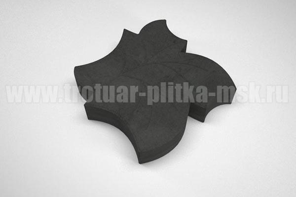 плитка клен черная