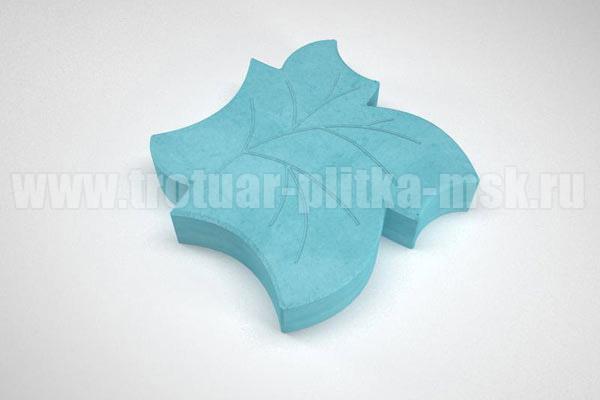 плитка клен синяя