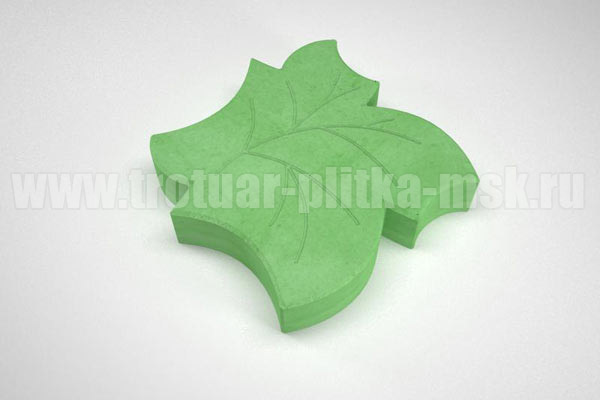плитка клен зеленая