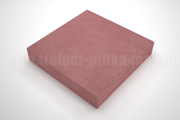 плитка квадрат красная