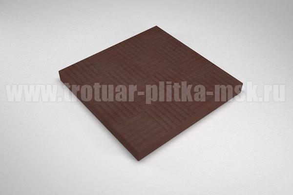плитка паркет коричневая