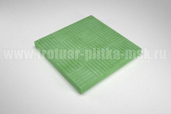 плитка паркет зеленая