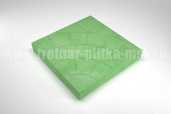плитка паутина-35 зеленая