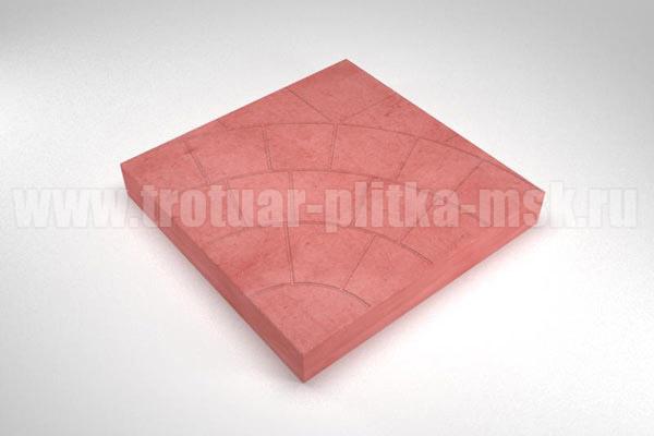 плитка паутина-35 красная