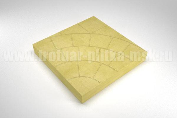 плитка паутина-35 желтая