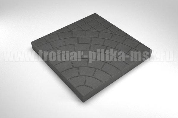 плитка паутина-40 черная