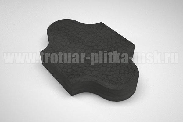 плитка рокко черная