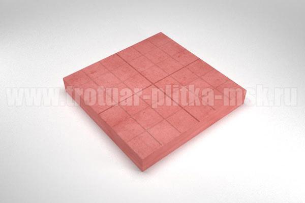 плитка сетка красная