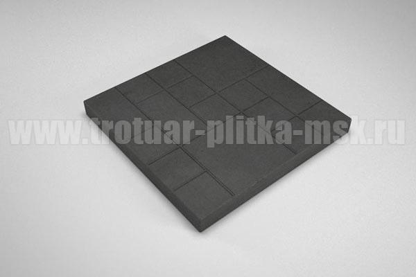 плитка шоколадка черная