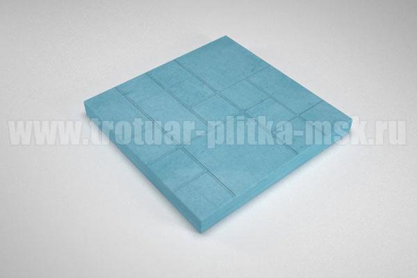 плитка шоколадка синяя