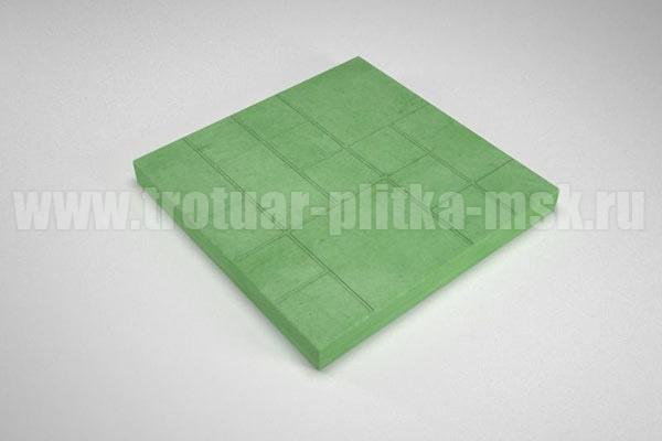 плитка шоколадка зеленая