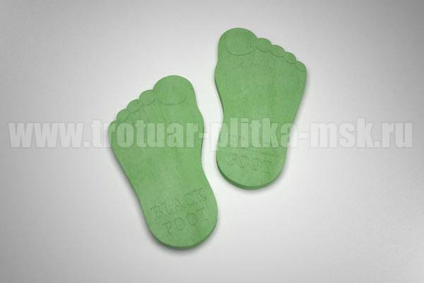 плитка следы великана зеленая