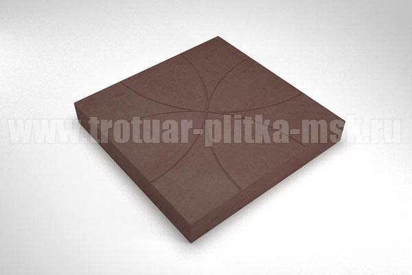 плитка радиус коричневая