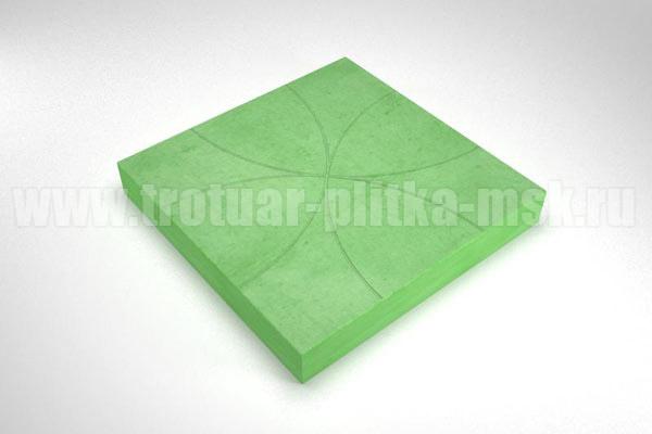 плитка радиус зеленая