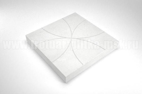 плитка радиус белая