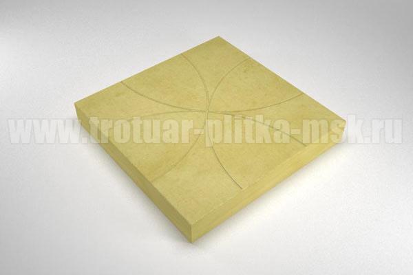 плитка радиус желтая