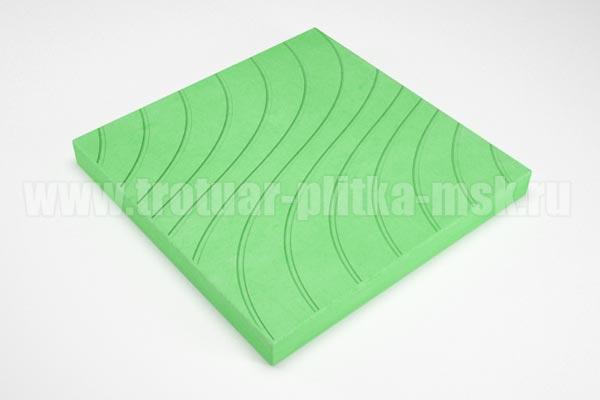 плитка волны зеленая