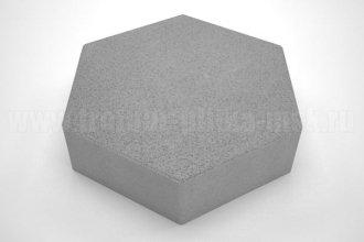 плитка шестигранник серая